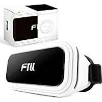 FTLL Virtual Reality Headset VR Glasses Goggles for iPhone 5 5s 6/ 6s plus iphone 7/7 plus Samsung Galaxy S4/5/6/7/C5/7/A3/7/5/9 Edge Note 4/5/6/7 LG G5 for Android and IOS