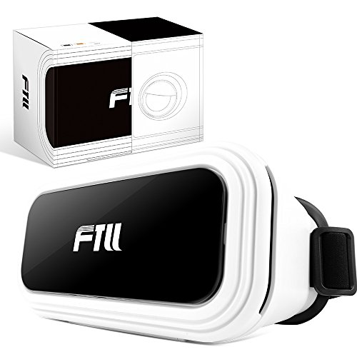 FTLL VR Box Virtual Reality Headset 3D VR Glasses Goggles for iPhone 5 5s 6/ 6s plus iphone 7/7 plus Samsung Galaxy S4/5/6/7/C5/7/A3/7/5/9 Edge Note 4/5/6/7 LG G5 for Android and IOS