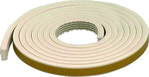 M-D Building Products 63669 M-D All-Climate Weather-strip, 19/32 In W X 10 Ft L X 5/16 In T White