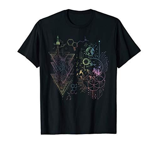 DMT Spirit Molecule Psychedelic Music Open Air Fest T-Shirt