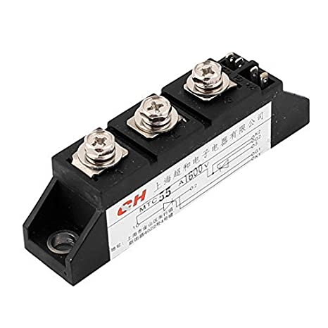 DealMux CMT-55A Silício Controlo MTC tiristor rectificador Módulo 55A 1600V: Amazon.com: Industrial & Scientific
