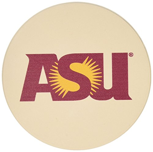 Thirstystone Stoneware Coaster Set, Arizona State University ()
