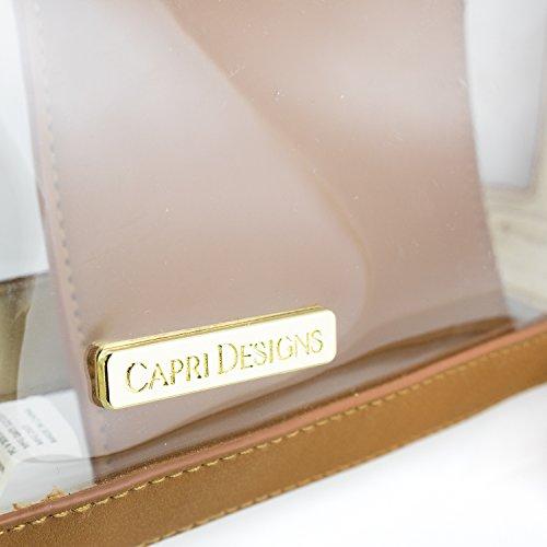 Security Camel Purse Capri Half NFL Travel Moon Designs Clear Crossbody Stadium Approved PwqAUzw