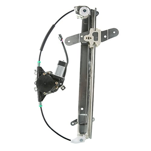 A-Premium Power Window Regulator with Motor for Lincoln Town Car 1998-2011 Front Left Driver Side ()