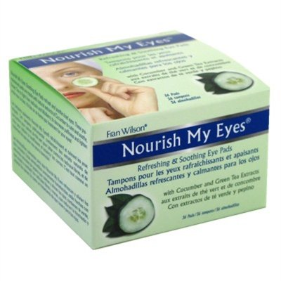 Fran Wilson Nourish My Eyes Cucumber Eye Pads 36 ea (Pack of 3)