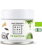 100% biologische matcha | Matcha Groene Theepoeder | Ceremoniële kwaliteit Matcha-thee | Matcha & CO