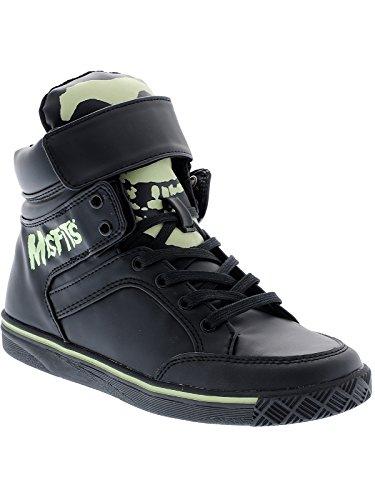 Iron Fist Frauen Misfits Glow in the Dark Sneakers Black