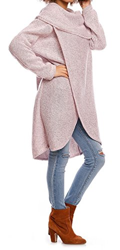 Empire Couches Pullover Pull Coeur B en Glamour Col Cache Maille SATnqXd