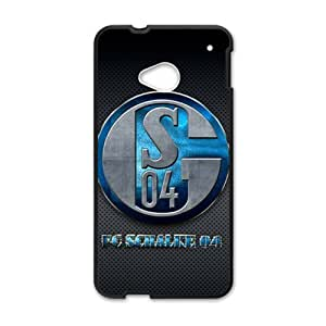 Happy fc schalke 04 S04 Phone Case for HTC One M7