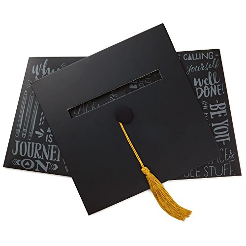 Hallmark Graduation Cap Card Box Decorative Accessories Milestones ()