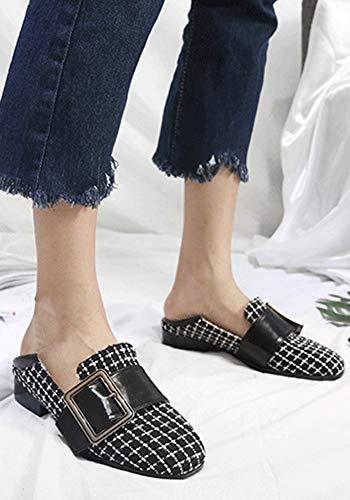 Femme Mode Ferm Bout Carreaux Aisun ZPOdqZ