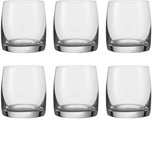Circleware 44602 Concerto Bohemia Shot Glasses, 2.5 oz, 6pc