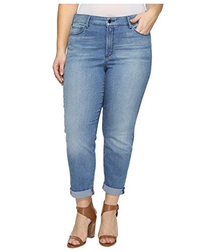 NYDJ Women's Plus Size Jessica Relaxed Boyfriend Jeans, Nottingham, 20W