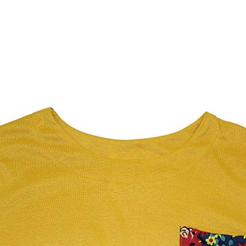 Da Invernale Cocktail Vintage Abito Camicia Fiori Lunghe Maniche Floreale Partito Lunga Maglietta Vestiti Vestito Invernali Corta Abiti Donna Elegante Casual Moda Blusa xxnU7w