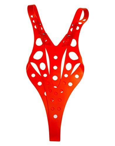 (Xcoser Leeloo Suspender Flexiable Size Costumes Cosplay Prop Christmas)
