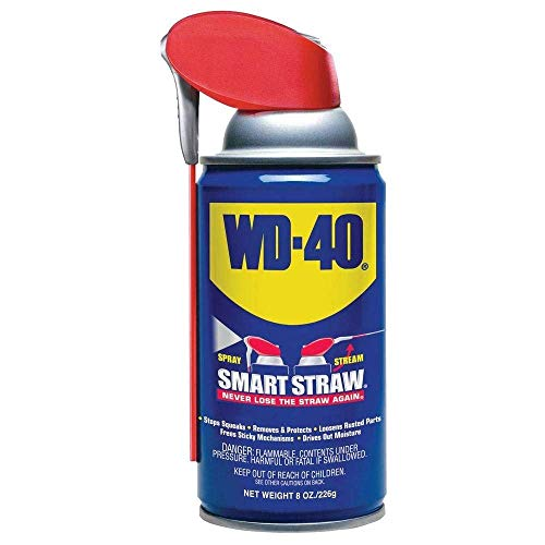 WD-40 Multi-Use Product - Multi-Purpose Lubricant with Smart Straw Spray. 8 oz. (24)
