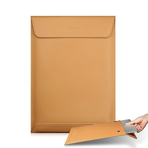 Laptop Bag Case for Macbook Air 13.3 Soft Ultra-thin Split Leather Sleeve Bag-for Air 13.3 (Ultra Thin Envelope)
