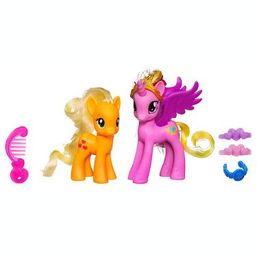 2 opinioni per My Little Pony Two Pack- Princess Cadance and Applejack