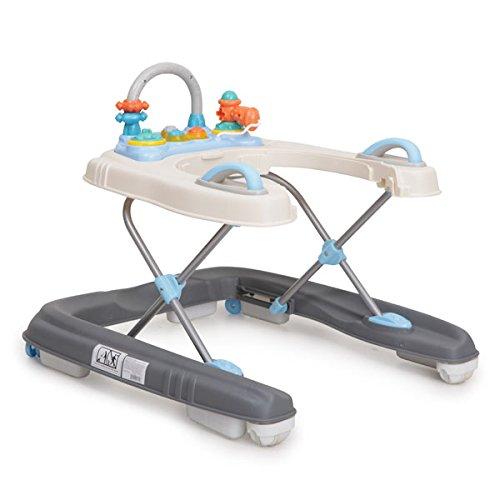 Lauflernhilfe Dotty 2 in 1 höhenverstellbar mit Spielcenter (Blau)