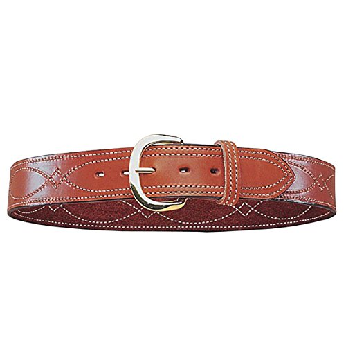 B9 Fancy Stitched Belt Tan - Tan, 34