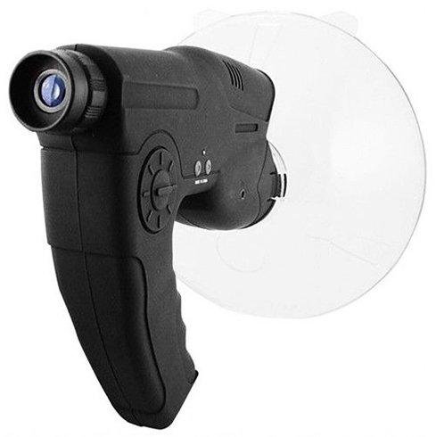 CozyHomelover Portable Parabolic Microphone Monocular Bionic Ear for Long Range Listening Up To 300 Ft