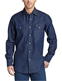 Men's Authentic Cowboy Cut Work Western Long-Sleeve Shirt