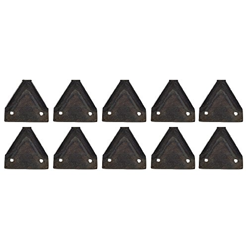 (10) Big Tooth Sections For Ford 14 15 16 62 63 65 66 502 515 Sickle Mower