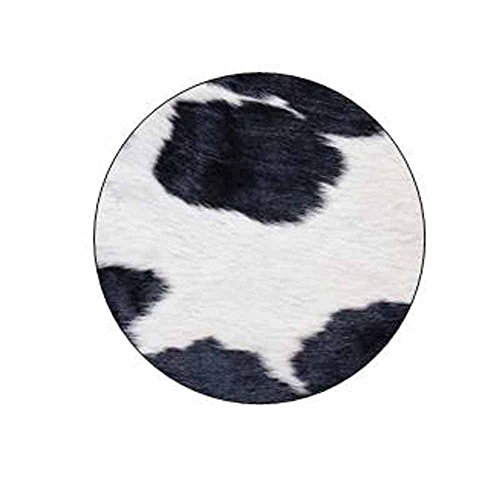 Cow Print Stickers - Gift Bag or Envelope Seals - Animal Theme Stationery Design - Party Favor Supplies - Set of 24
