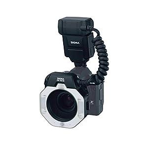 Sigma EM-140 DG Macro Ring Flash for Nikon SLR Cameras + 4 AA Batteries & Charger + Lens Pen + Photo4Less Cleaning Cloth - Top Value Sigma Flash Bundle!