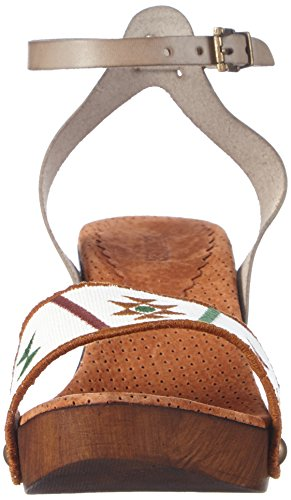 Mehrfarbig Mujer de Bunker Colores tobillo Sandalias ICE Sandal Varios wPW0SC
