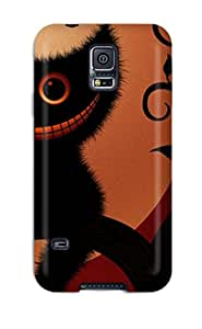 Hot Snap-on Funny Monster Cat Hard Cover Case/ Protective Case For Galaxy S5 Sending Free Screen Protector