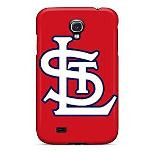 Hot RGjzaxw1261khYeb St. Louis Cardinals Tpu Case Cover Compatible With Galaxy S4