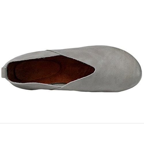 Pompe Basse 1 Grigio Donna Stile Vogstyle Comfort Scarpe CwI7atIq