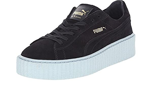 uk availability 7dfa3 d2aff Amazon.com | Rihanna Fenty Puma the Creeper Platform Navy ...