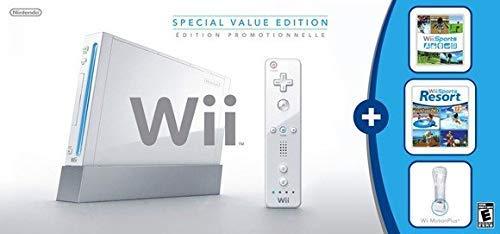 Wii Console w/ Bonus Wii Sports Resort & Wii MotionPlus Bundle (Renewed) by Wii (Image #1)