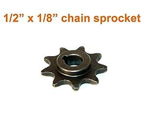 9 tooth sprocket for bike motor my1016z for Freewheel sprocket for electric motor