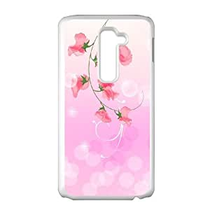 LG G2 Cell Phone Case Covers White Abstract Simjf