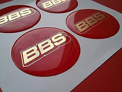 BBS - 4 piezas - 65mm adhesivos con emblema para llantas tapacubos: Amazon.es: Coche y moto