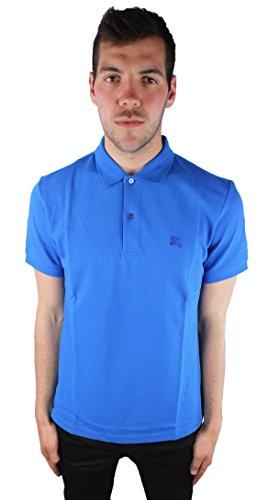 Burberry 3974314 39743141 Bright Opal Herren Polo Shirt Blau