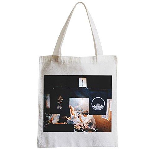 Große Tasche Sack Einkaufsbummel Strand Schüler Grill Japanese Yakitori japan Restaurant
