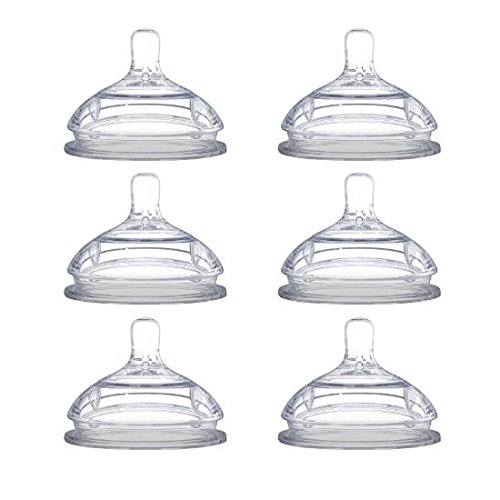 Comotomo Replacement Nipples, Variable Flow/Y-cut - 2 Count, 3 packs