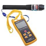 20mW Visual Fault Locator Fiber Optic Cable Tester 20KM Optical Laser Source + Handheld Optical Power Meter Tester JW3208 -50 to +26 dBm For Telecom CATV