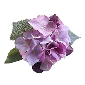YJYdada Artificial Silk Fake Flowers Hydrangea Floral Wedding Bouquet Party Decor (I) 3