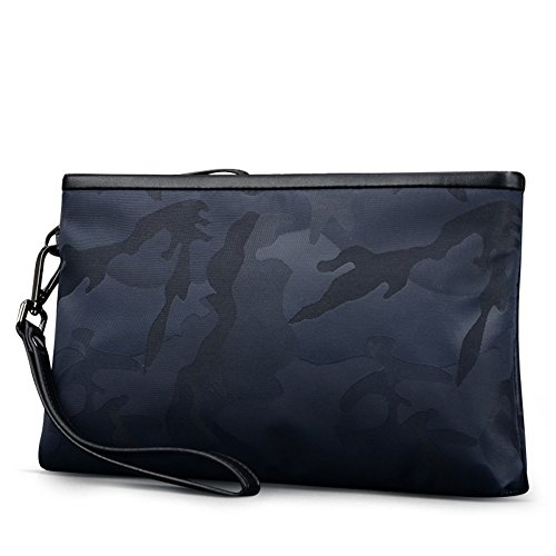 bolsa gran sobre A de capacidad Embrague de bolsos bolso embrague Oxford A hombres Paño los De xzqO7Bw