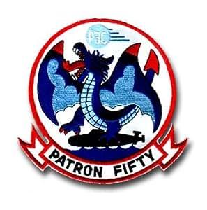 "Amazon.com: VP-50 Blue Dragons Patron 50 5 1/2"" Military"