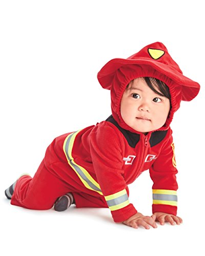 [Carters Baby Halloween Costume Many Styles (12 months, fire fighter)] (Baby Fox Costumes For Infants)