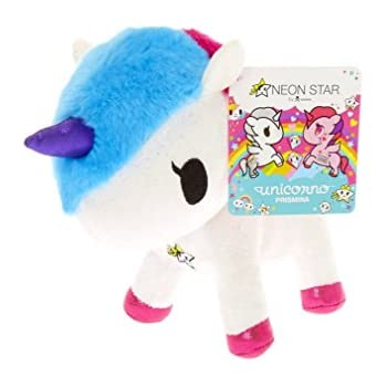Tokidoki Neon Star Unicorno Prismina Plush Toy