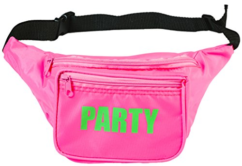 Funny Beach Party Costume Ideas (Funny Guy Mugs PARTY Fanny Pack, Pink)