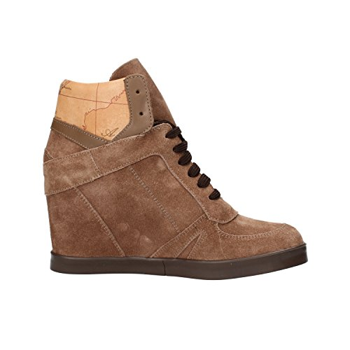 Leather AF284 37 Alviero Prima Women's 1 4 UK Sneakers Martini CLASSE Brown ALVIERO Beige EU Martini Suede Classe pwqOa7