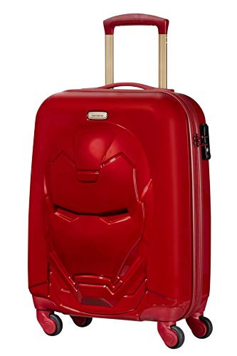 (Samsonite Disney Ultimate Suitcase 55 cm 35.5 Litres Iron Man Red)